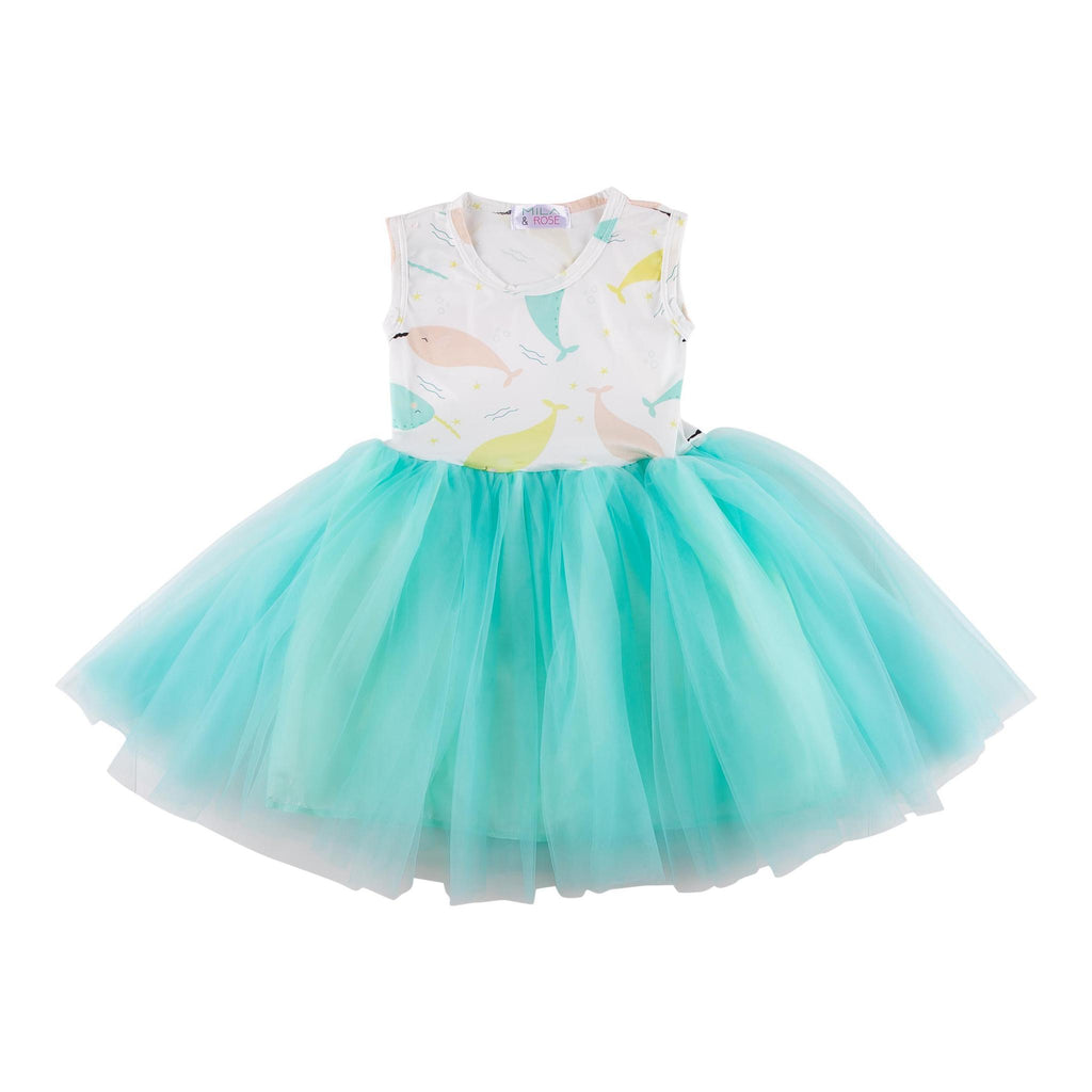Narwhal Tank TuTu Dress