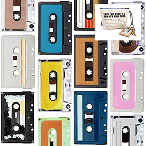 I Go to 250 Pieces Wooden Puzzle Mix Tapes in Pass-it-on Pouch