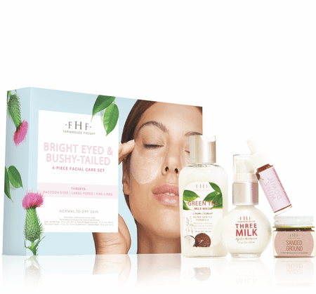 Bright Eyed & Bushy­ Tailed 4­ piece Facial Starter Set
