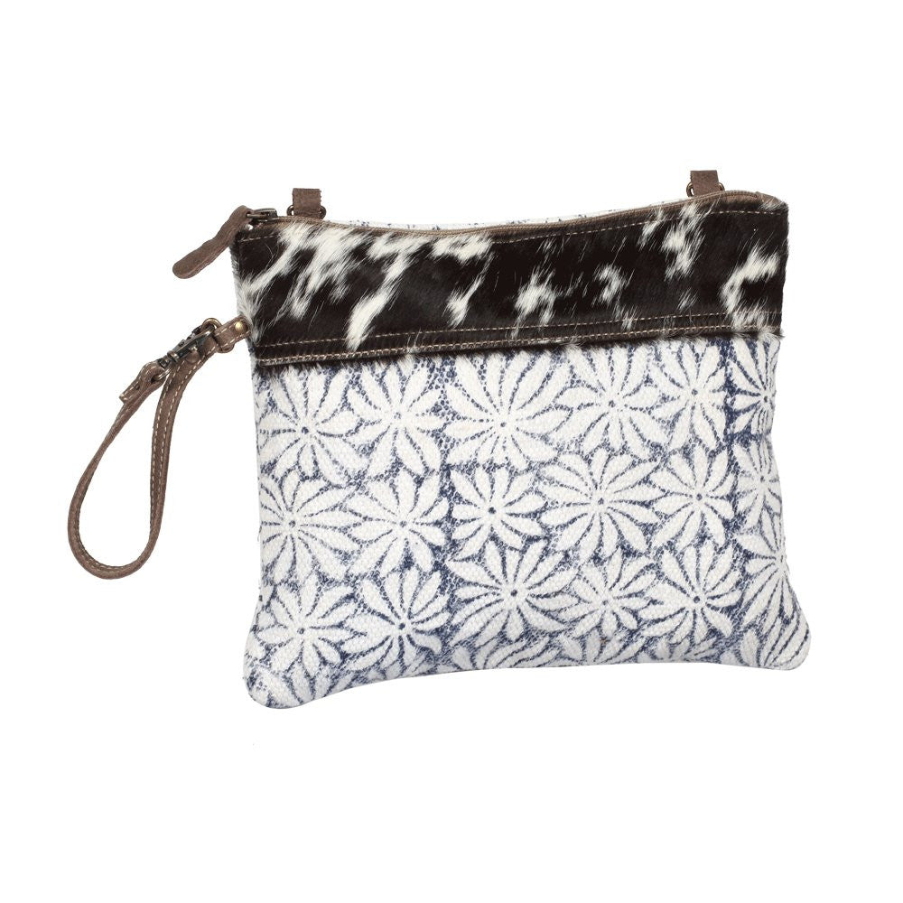 Noir & Flower Cross-body