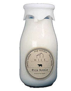 Milk Bottle Candle