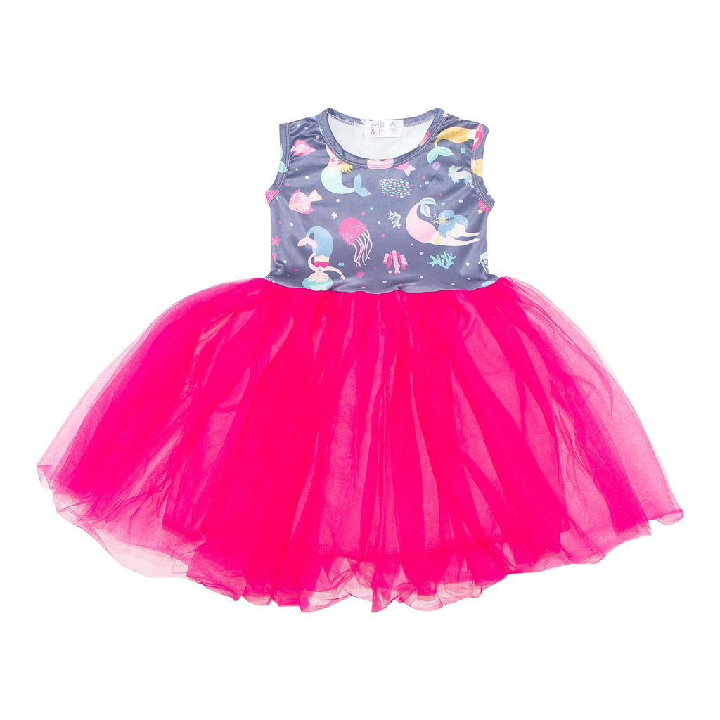 Mermaid Tank TuTu Dress