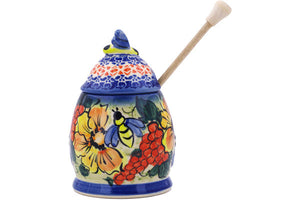 "6"" Honey Jar with Dipper"