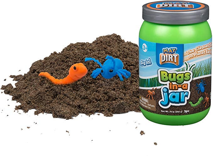 Play Dirt with Bugs in a Jar