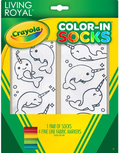 Narwhal Color in Socks