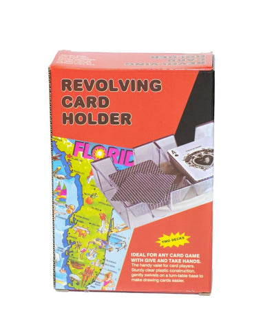 Revolving Card Holder Deck