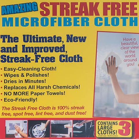 Streak Free Cloth