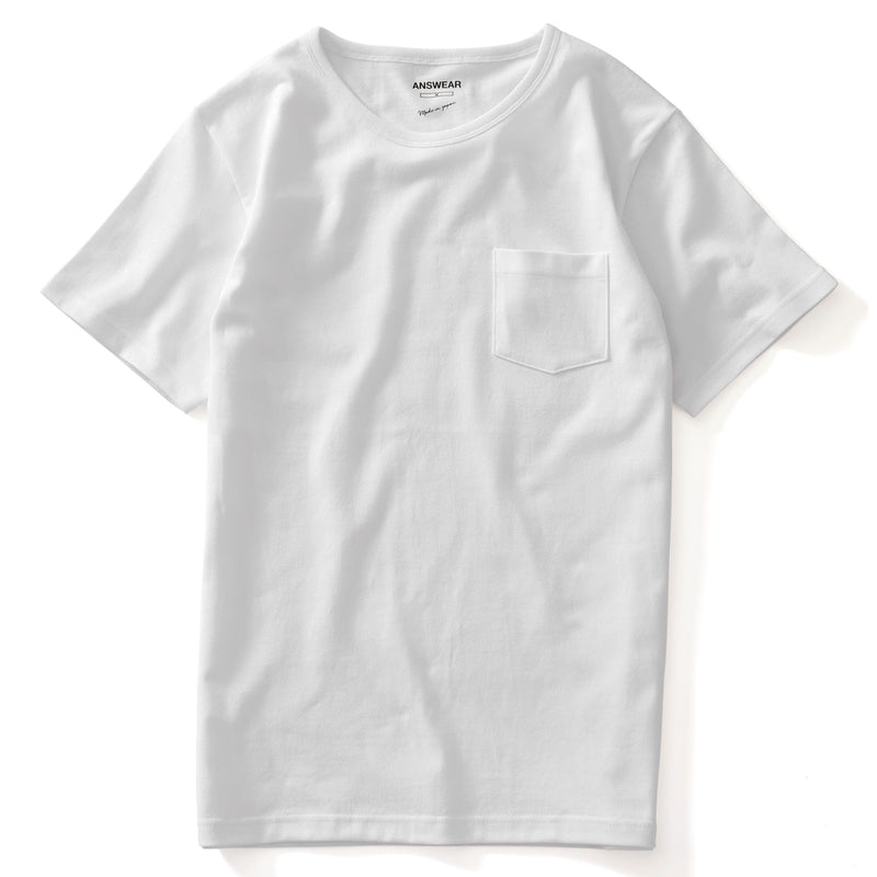 ANSWEAR Round Neck Premium Pocket Tee