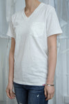 Healthknit 5223 Slub Yarn V Neck Pocket Tee