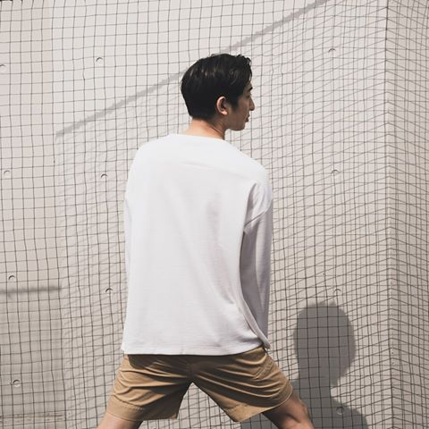 armi Wool x Cotton football tee