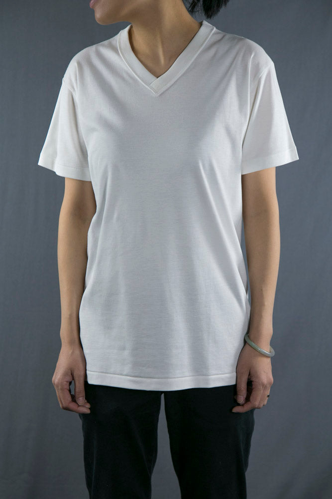 EIJI 有機 Ultimate Pima棉V領 Organic Ultimate Pima Cotton V Neck