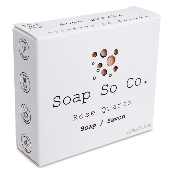 ROSE QUARTZ - Soap So Co.