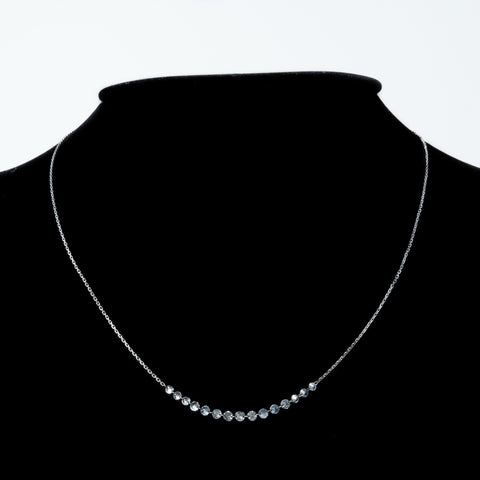 Bezelless Diamonds Necklace
