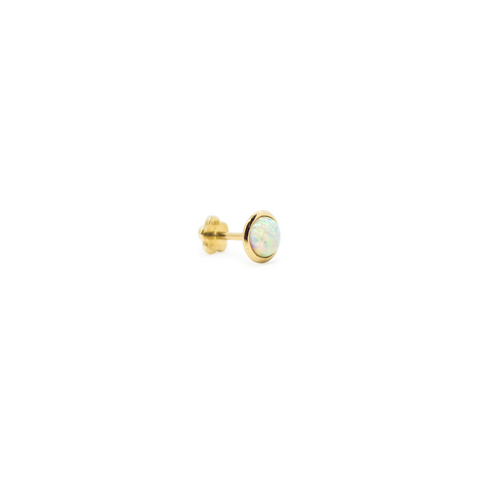 Opal Bezel Threaded Stud