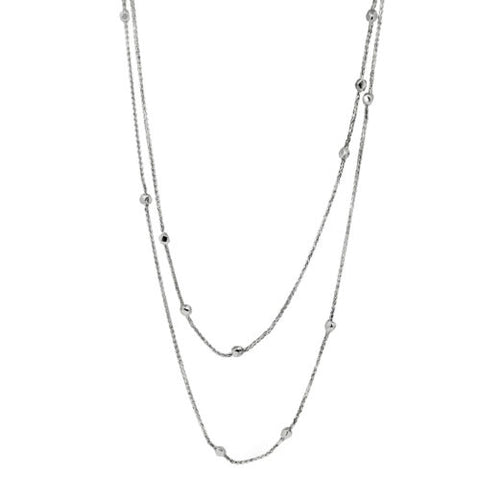 Metric Long Necklace