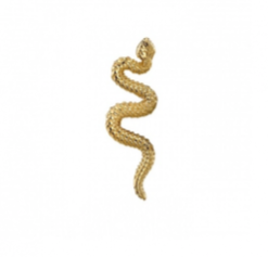 Threaded End with Delicate Snake