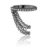 9.5mm Diamond Eternity Ring Two Forward Chains