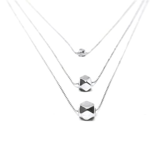 Metric Triple Necklace