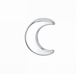 Threaded End with Tiny Crescent Moon