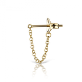Medium Chain Wrap Earstud