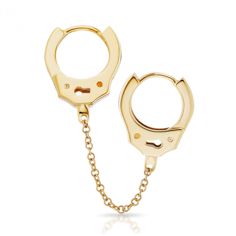 8mm Handcuff Clickers with Medium Chain