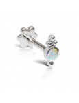 Opal Four Ball Trinity Threaded Stud