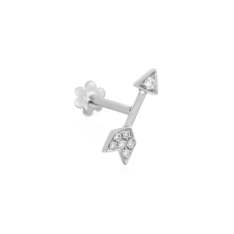 10mm Diamond Arrow Threaded Stud