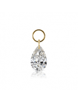 5mm by 3mm Pear Diamond Charm