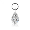 7mm by 5mm Pear Diamond Charm