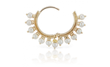 9.5mm Pearl Coronet Ring