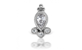 Diamond Delia Threaded Stud