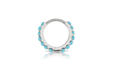 8mm Turquoise Eternity Clicker