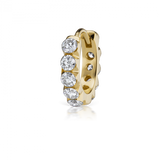 8mm Invisible Set Large Diamond Eternity Ring