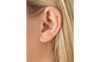 1.5mm Blue Diamond Scalloped Set Threaded Stud