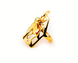 Moska Gold plated Ring