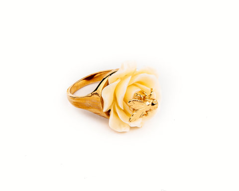 Flower Oscar G Ring