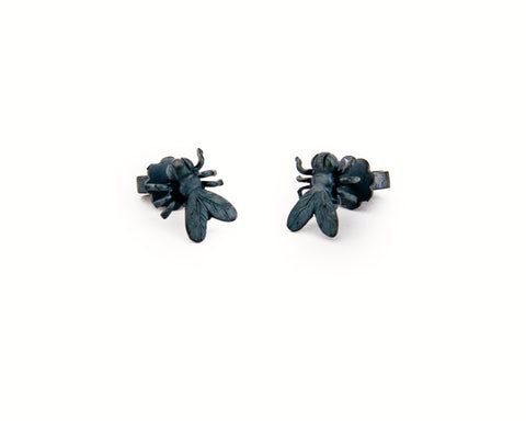 Moska Black Earring
