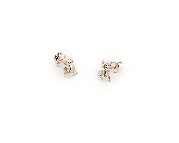 Mini Moska Baby Silver Earrings