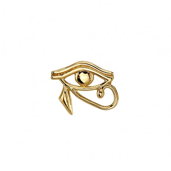 Threaded End with Eye of Horus Egyptian Symbol
