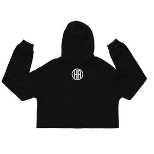 Women's Hustlers Vs Everybody Crop Hoodie