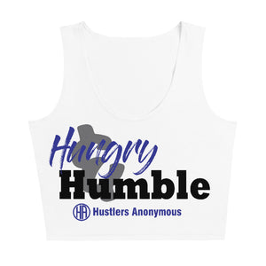 Hungry and Humble Sublimation Cut & Sew Crop Top