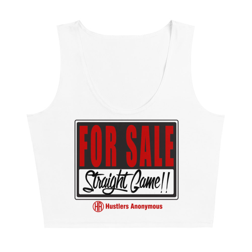 Women's Straight Game Sublimation Cut & Sew Crop Top