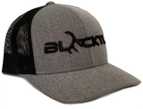 BLACKTL Hat 3D Stitch Heather / Black