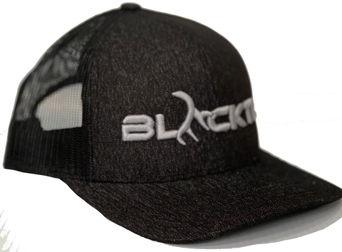 BLACKTL Hat 3D Stitch Black / Black