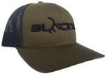 BLACKTL Hat 3D Stitch Moss Green / Black