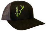 BlackTL Deadhead Hat Green on Black / Grey