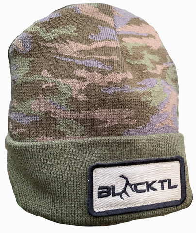 BlackTL Camo Beanie (MADE IN AMERICA)