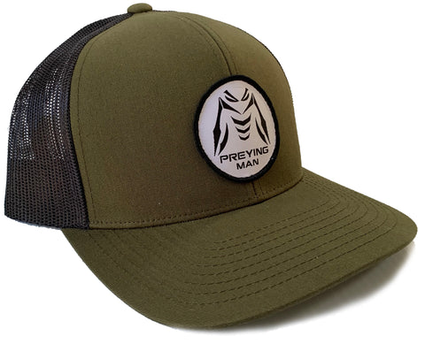 PREYING MAN Hat Moss Green / Black