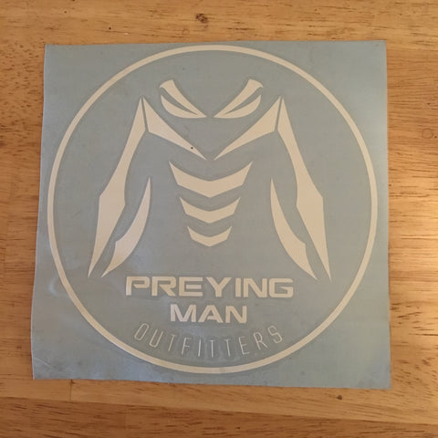 Preying Man Outfitters Vinyl Decal
