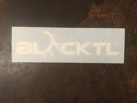 VINYL DECAL - BLACKTL